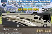 2020 Thor Motor Coach Windsport 34R W/King, Theater Seats, Ext TV & OH Loft