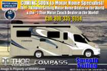 2020 Thor Motor Coach Compass 23TW RUV for Sale W/ 15K A/C, Ext TV