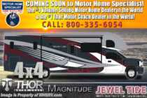 2020 Thor Motor Coach Magnitude SV34 4x4 330HP Diesel Super C W/Mobile Eye, WiFi