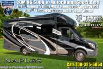 2020 Thor Motor Coach Citation Sprinter 24MB W/15K BTU A/C, Dsl Gen, Ext TV