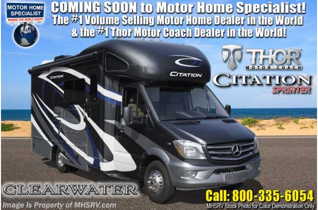 New 2020 Thor Motor Coach Citation Sprinter