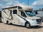 2020 Thor Motor Coach Siesta Sprinter 24SK W/Theater Seats, 15K A/C, Stabilizers