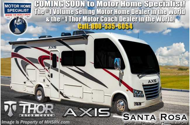New 2020 Thor Motor Coach Axis