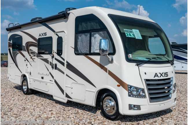 2020 Thor Motor Coach Axis 24.1 RUV for Sale W/ Pwr Driver Seat & Stabilizers