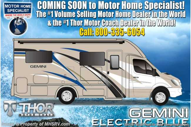 2020 Thor Motor Coach Gemini 23TW RUV for Sale W/15K BTU A/C & Ext TV