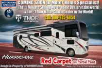 2020 Thor Motor Coach Hurricane 34R W/ Theater Seats, King, OH Loft, Ext TV