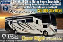 2020 Thor Motor Coach Hurricane 35M Bath & 1/2 W/ King, OH Loft & Ext TV