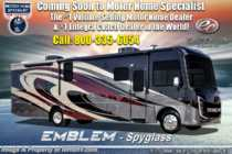 2020 Entegra Coach Emblem 36H Class A Gas Luxury RV W/ Theater Seats & King