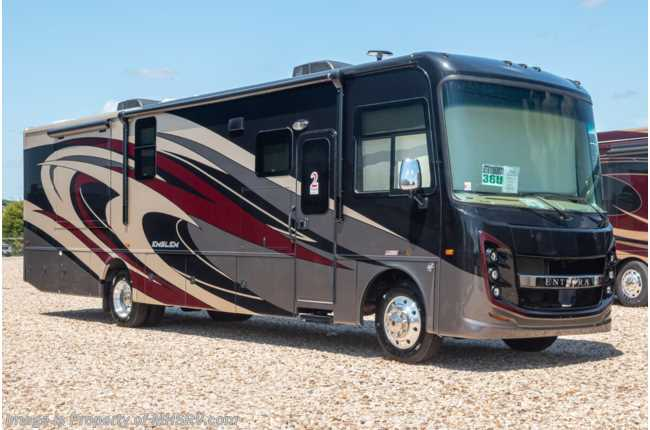 2020 Entegra Coach Emblem 36U Bath & 1/2 Luxury RV W/ King, W/D, OH Loft