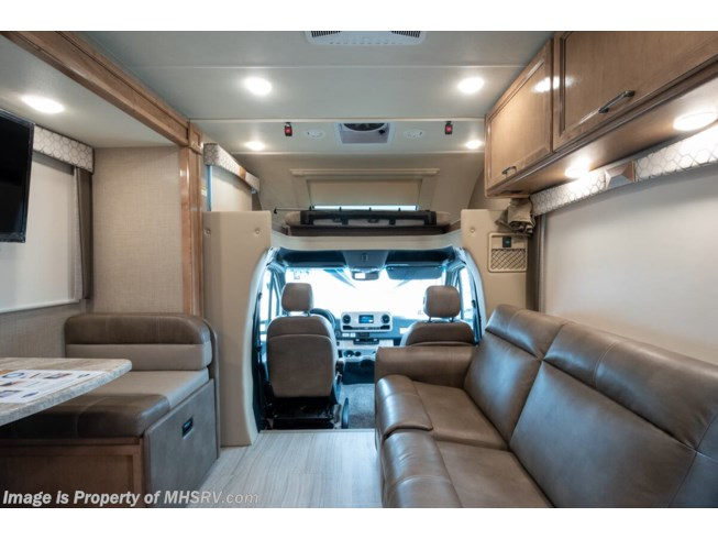 2020 Thor Motor Coach Quantum Sprinter CR24 - New Class C For Sale by Motor Home Specialist in Alvarado, Texas features Theater Seating