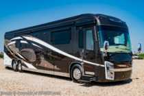 2018 Entegra Coach Cornerstone 45B Bath & 1/2 600HP Luxury Diesel Pusher Consignment RV
