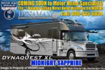 2019 Dynamax Corp Dynaquest XL 3801TS Super C W/ Cab Over, Theater Seats, W/D