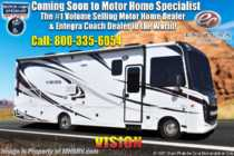 2019 Entegra Coach Vision 26X W/ OH Loft, Ext TV, 3 Cam