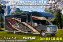 2019 Entegra Coach Esteem 26D Class C RV W/ OH Loft, 3 Camera, Ext TV