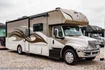 2020 Nexus Wraith 33W Super C International Diesel RV W/ King, Dark Forest Cabinetry