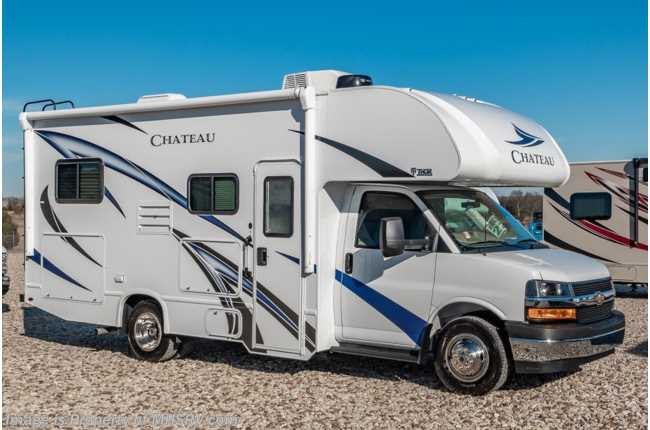 2020 Thor Motor Coach Chateau 22E W/ 3-Cameras, Ext TV, 15K A/C, Heated Tanks & More!