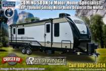2020 Cruiser RV Radiance Ultra-Lite 30DS Bunk Model RV W/ 2 A/Cs, King & Stabilizers