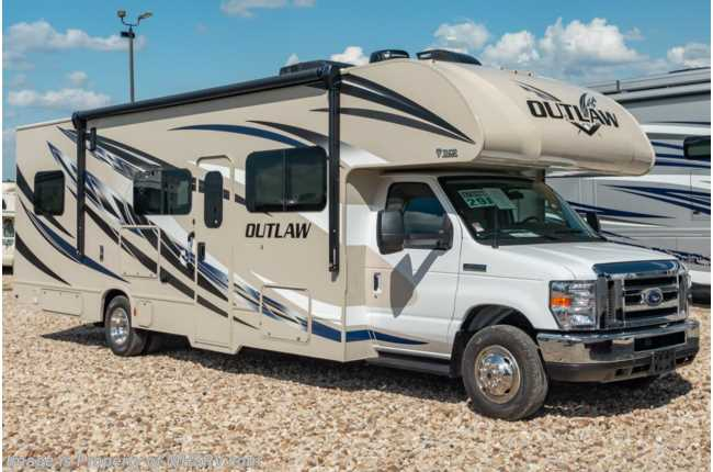 2020 Thor Motor Coach Outlaw Toy Hauler 29J Toy Hauler W/ Cabover Loft, Ext TV, WiFi