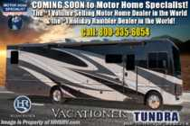 2019 Holiday Rambler Vacationer 35K Bath & 1/2 RV W/ King, OH Loft, Tech Pkg