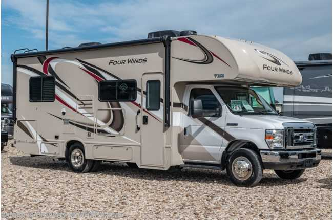 2020 Thor Motor Coach Four Winds 25V RV for Sale W/ 15K A/C, Stabilizers & Ext TV