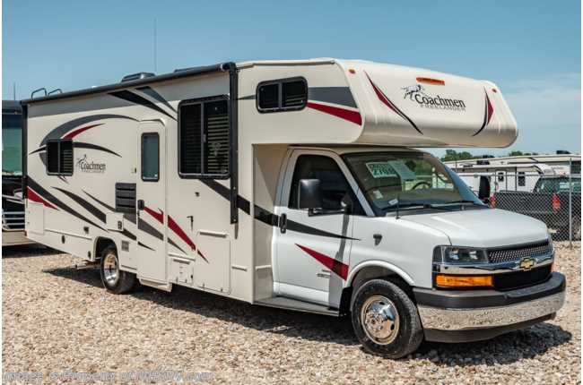 2020 Coachmen Freelander  27QBC W/ 15K A/C, Ext TV, 3 Cams & WiFi