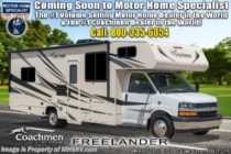 2020 Coachmen Freelander  27QBC Class C W/ WiFi, 3 Cams, 15K A/C, Ext TV