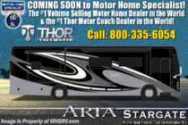 2020 Thor Motor Coach Aria 3401 Luxury Diesel RV for Sale W/360HP, Theater Seats