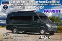 2020 American Coach Patriot MD4- Lounge Sprinter Diesel W/ VB Air Ride, OH TV & WiFi