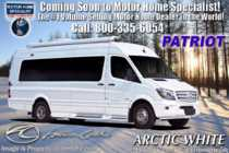 2020 American Coach Patriot MD2- Lounge Sprinter Diesel Class B RV for Sale W/ WiFi