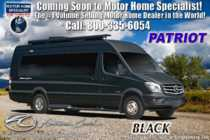 2020 American Coach Patriot MD4- Lounge Sprinter Diesel W/ Satin Wood, WiFi & OH TV