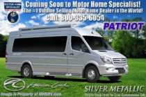 2020 American Coach Patriot Cruiser S6 Sprinter Diesel W/ WiFi, 4 Cams, Pwr Awning