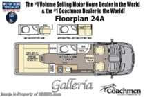 2020 Coachmen Galleria 24A 4x4 Sprinter W/20K A/C, Sumo Springs, Rims