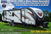 2020 Heartland  Wilderness WD 2725 BH Bunk Model W/ 15K A/C, Pwr Stabilizers
