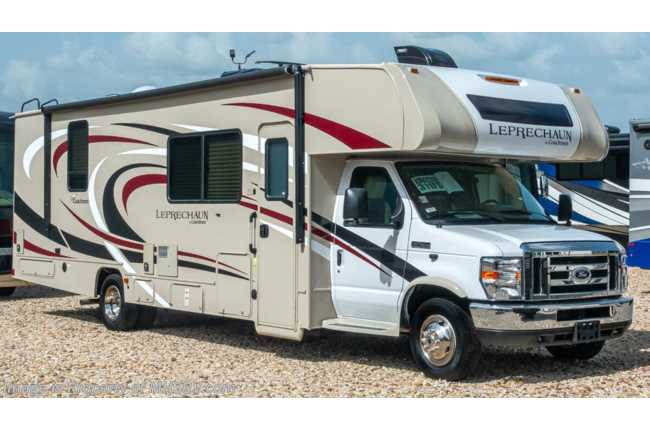 2020 Coachmen Leprechaun 311FS W/ 15K A/C, W/D, Stabilizers, Ext TV & WiFi