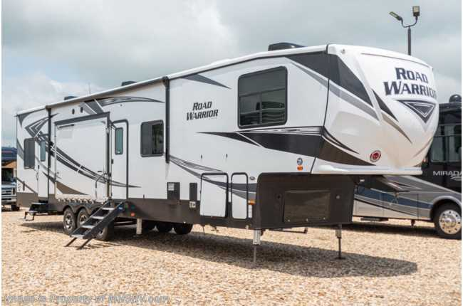 2020 Heartland RV Road Warrior 4275RW Bath & 1/2 W/ 3 A/Cs, 5.5KW Gen, Rear Air Room, King