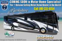 2019 Forest River Berkshire 34QS Compact Luxury Diesel W/ Pwr Loft, Fireplace & Sat