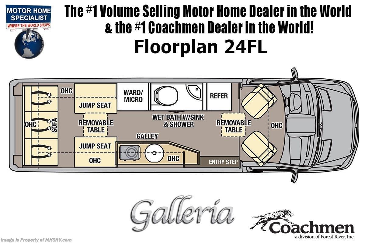 2020 Coachmen RV Galleria 24FL for Sale in Alvarado, TX 76009 | ACM042026405