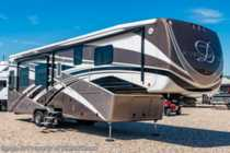 2018 DRV Mobile Suites 38RSSA Luxury 5th Wheel RV W/ King, W/D, Auto Jacks