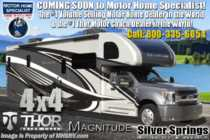 2020 Thor Motor Coach Magnitude XG32 4x4 330HP Diesel Super C RV for Sale W/ OH Loft