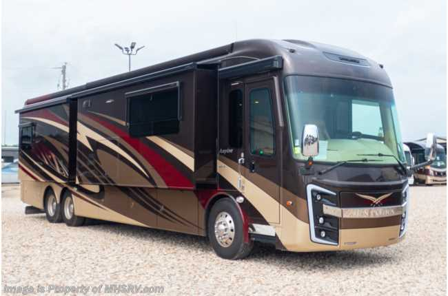 2018 Entegra Coach Aspire 42DEQ Luxury Diesel Pusher W/ 450HP, Theater Seats Consignment RV