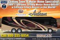 2020 Entegra Coach Anthem 44F Bath & 1/2 Luxury RV W/ Theater Seats, WiFi, In-Motion Sat