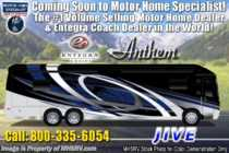 2020 Entegra Coach Anthem 44B Bath & 1/2 Luxury RV W/ Theater Seats, In-Motion Sat, WiFi & 450HP