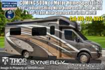 2020 Thor Motor Coach Synergy 24ST Sprinter RV W/15K A/C, Stabilizers, Theater Seats