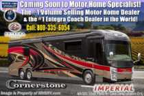 2020 Entegra Coach Cornerstone 45A Bath & 1/2 W/WiFi, Solar, King Bed, Booth