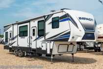 2018 Keystone Impact 367 Bath & 1/2 5th Wheel RV for Sale W/ Auto Jacks