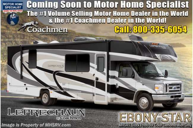 2020 Coachmen Leprechaun 319MB W/FBP, Exterior Kitchen, Dual A/Cs, Aluminum Rims
