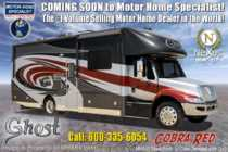 2020 Nexus Ghost 36DS Bunk Model Luxury Super C W/ Theater Seats, Cab-Over TV