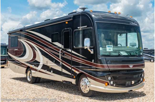2016 Fleetwood Southwind 34A Class A Gas RV for Sale W/ Ext TV, 2 A/Cs