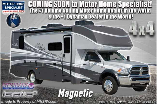 2020 Dynamax Corp Isata 5 Series 36DS 4x4 Diesel Super C W/ Theater Seats, Solar & Mobileye