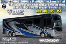 2020 Thor Motor Coach Tuscany 45JA W/ 450HP, Lithium Battery, Custom FBP & Theater Seats